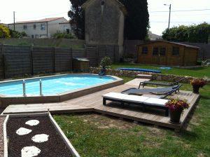 Amenagement piscine bois