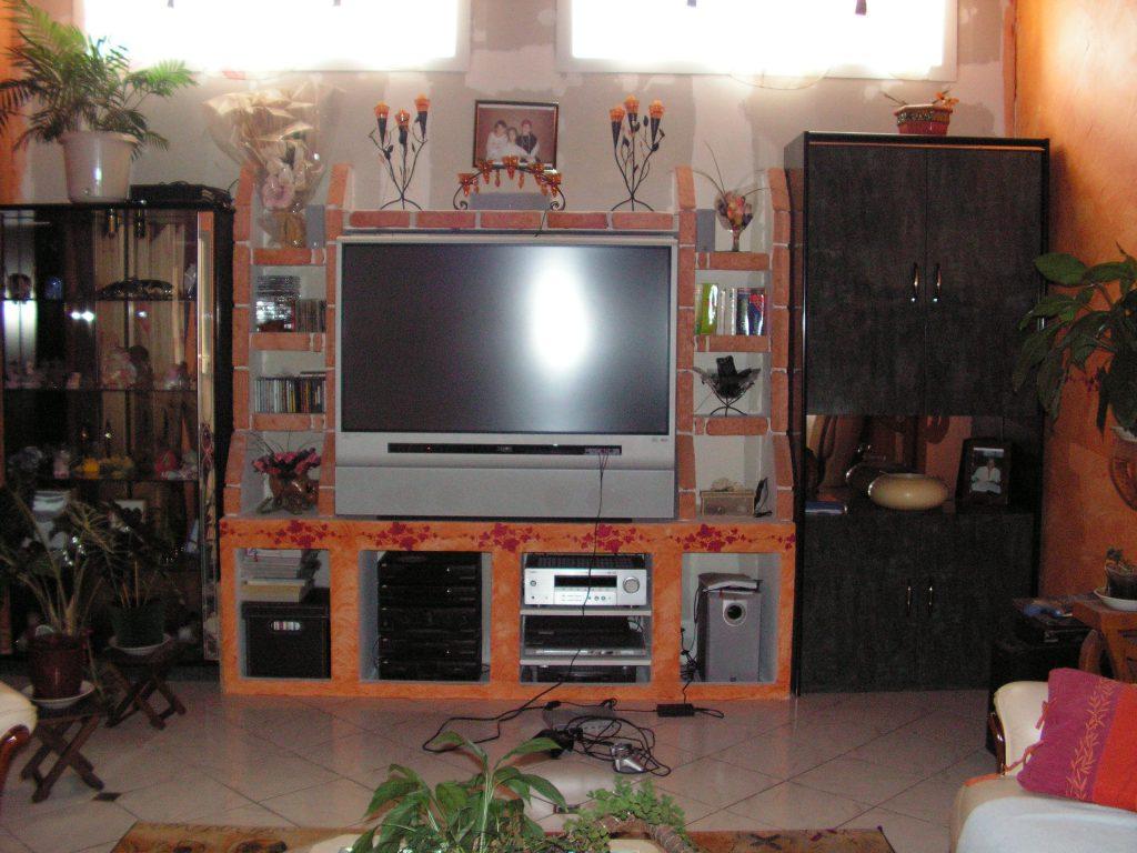 Meuble TV bati